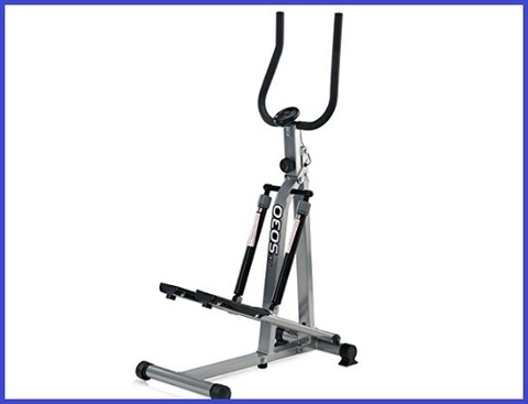 Stepper fitness con manubrio