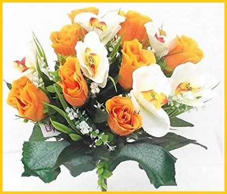 Bouquet rose orchidee