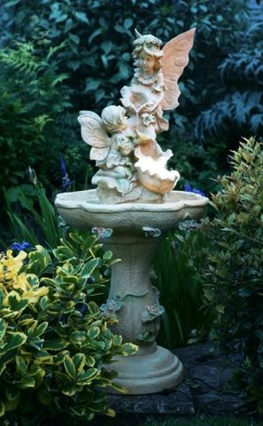 Fontane da giardino in poliresina sembra pietra ricostruita