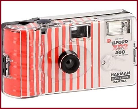 Fotocamera monouso con flash