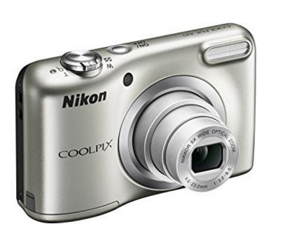 Fotocamera nikon coolpix argento digitale