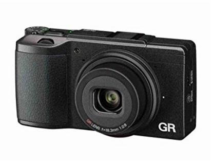 Fotocamera compatta della ricoh gr 2 full hd
