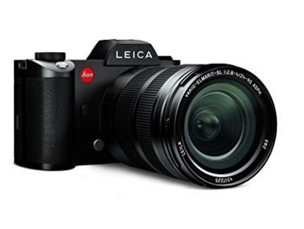 Macchina Fotografica Leica Con Obiettivo Professionale