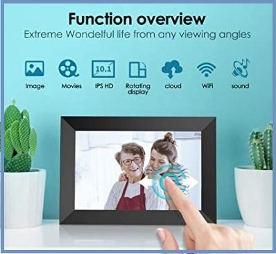 Foto digitale schermo wifi