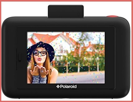 Polaroid fotocamera con display
