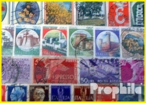 Collezione 100 francobolli italiani