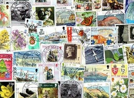 Francobolli da collezione 500 pezzi