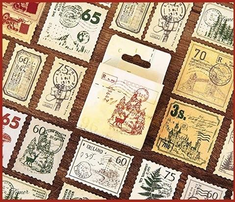 Francobolli adesivi vintage