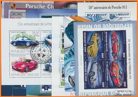 Francobolli Automobili Porsche