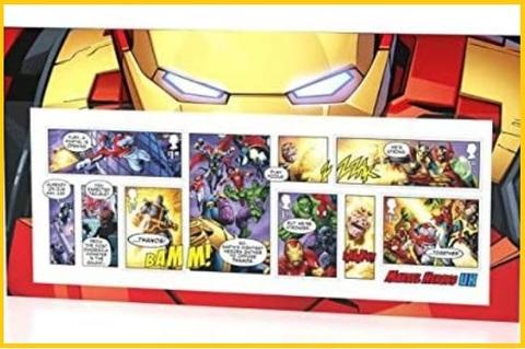 Francobolli Marvel Collezione