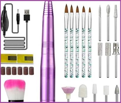 Set manicure elettrico