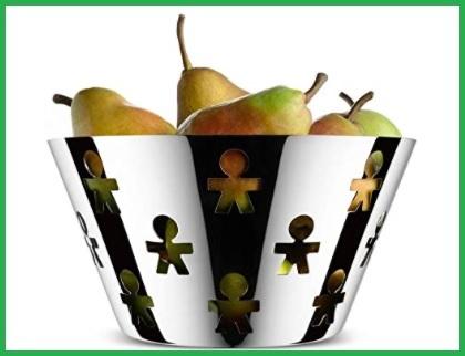 Fruttiera alessi traforato