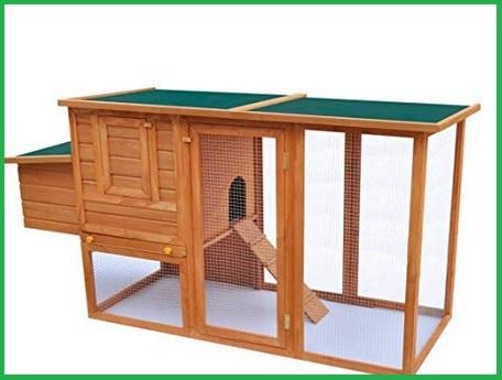 Gabbie galline ovaiole in legno