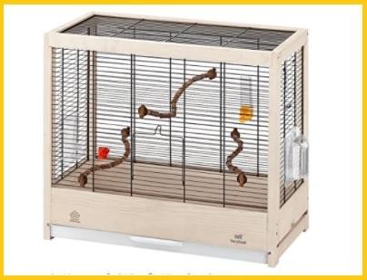 Gabbie per uccelli in legno