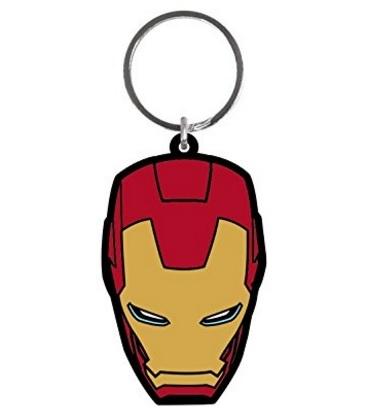 Portachiavi Avengers Di Iron Man In Gomma
