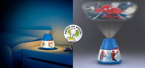 Lampada Da Tavolo Proiettore Di Spiderman