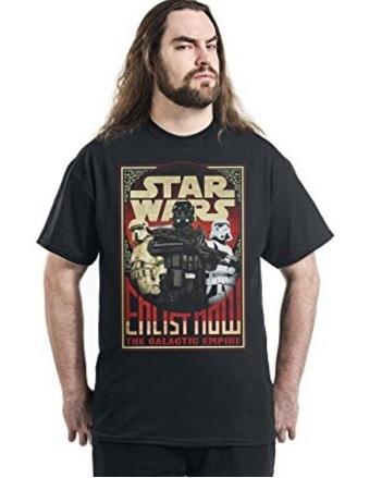 T shirt star wars rogue one nera