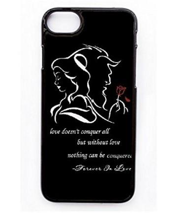 Iphone 7 Cover Case La Bella E La Bestia Frase