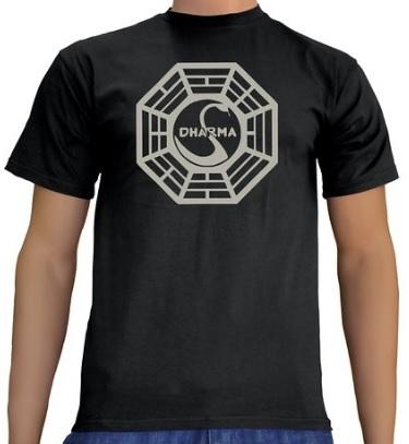 T shirt dharma della serie tv lost