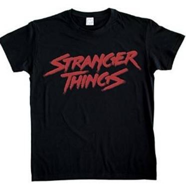 Maglietta nera stranger things