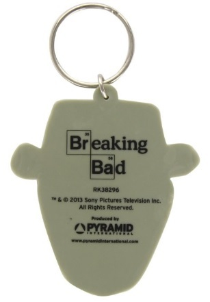 Portachiavi in gomma di breaking bad | Grandi Sconti | Gadget serie TV per Fans
