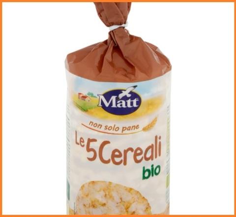 Gallette ai 5 cereali