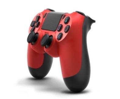 Dualshock Controller Wireless Ps4 Dal Colore Rosso Fuoco