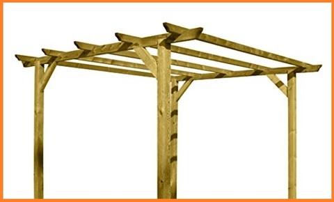 Gazebo in legno per esterno
