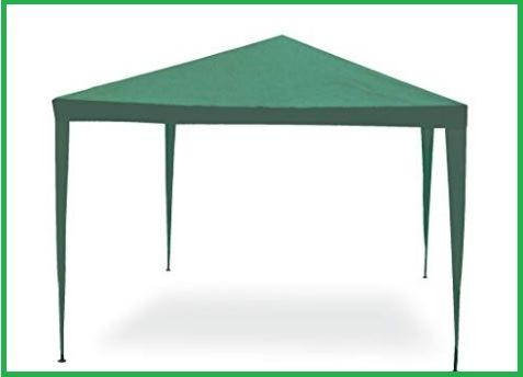 Gazebo 3x2 impermeabile verde