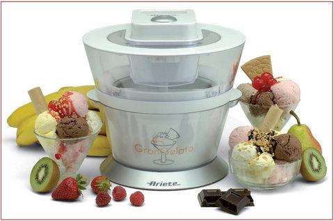 Per un gelato in casa gelatiera gran gelato grandi - Macchina per il gelato in casa ...