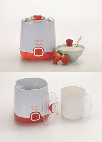 Yogurtiera compatta da un litro con un design moderno
