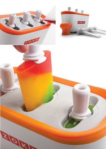 Prepara gelati in casa tipo ghiacciolo con stecco