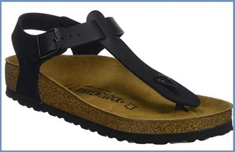 Sandalo donna birkenstock colore nero