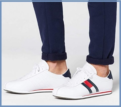 Sneakers tommy hilfiger bianco