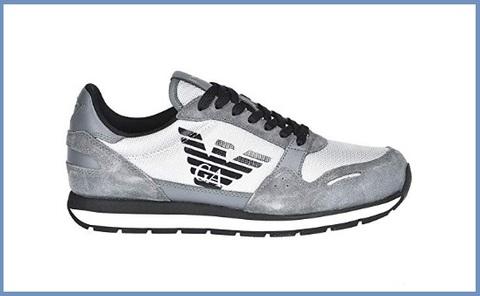 Sneakers armani scamosciata