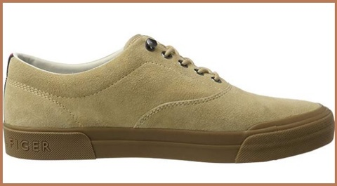 Sneakers tommy hilfiger scamosciata