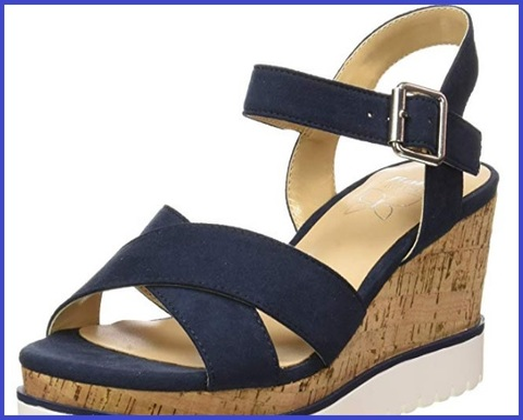 Sandalo donna listini in pelle bata