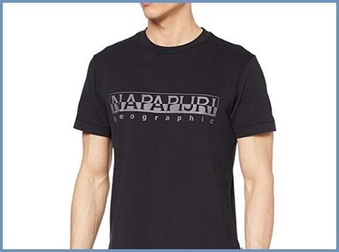 T-shirt Da Uomo A Manica Corta In Jersey Napapijri