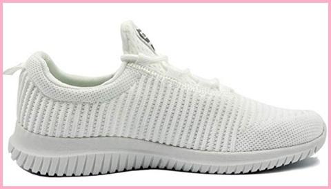 Scarpe donna ginnastica bianche