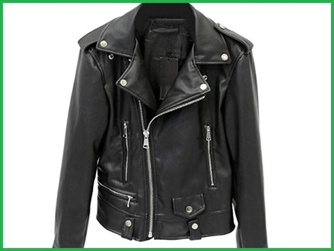 Giacca punk in pelle