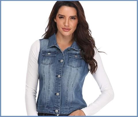 Gilet Donna Jeans