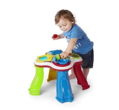 Tavolo per bambini cresci e impara chicco