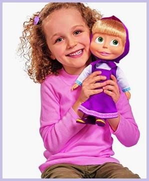 Bambola masha classica e molto bella che parla
