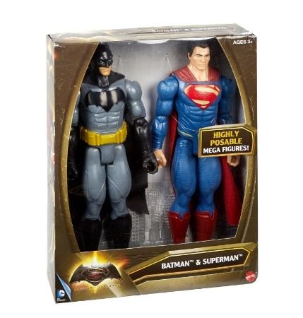 Personaggi mattel batman vs superman giocattoli