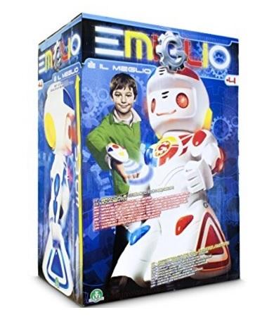 Giocattolo emiglio robot famoso giochi preziosi