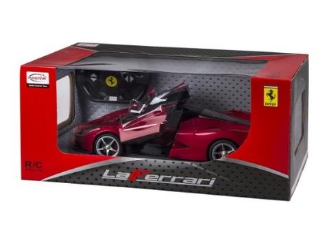 Ferrari radiocomandata dal colore rosso