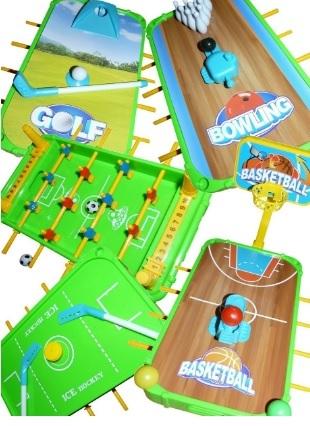Tavolo 5i1 vari giochi per bimbi