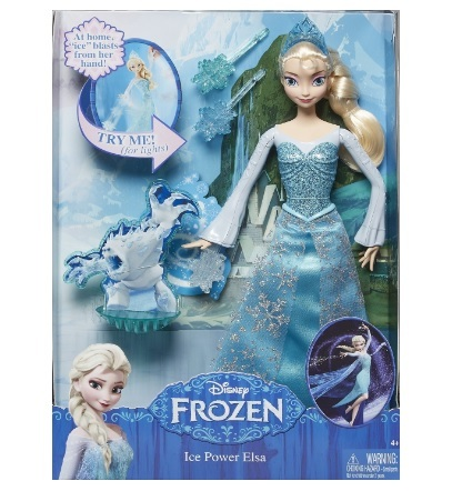 Bambola frozen elsa disney