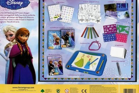 Frozen crea e disegna kit e accessori per bimbe