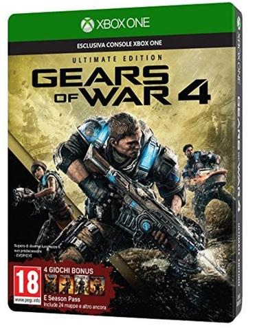 Gears of war 4 gioco spettacolare xbox one
